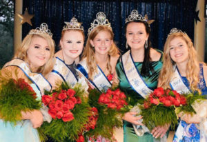 La Center: The new Miss Teen La Center Court, from left: Princess Sierra House, Princess Grace Nolan