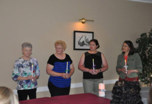 Hazel Dell: The new officers in the Columbia Mothers of Twins Club, from left: Dixie Fuller, secreta