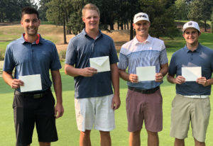 Local qualifiers from Oswego Lake CC for the 2018 U.S. Mid-Amateur Championship included Michael Joh