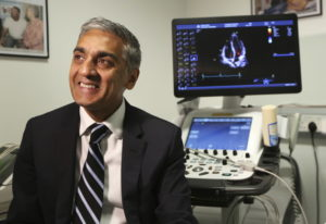 Dr. Sanjay Sharma, professor of cardiology at St. George's University of London, speaks Aug. 8 about