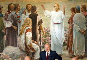 President Russell M. Nelson looks on following a news conference, in Salt Lake City on Jan. 16. The