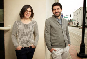 """""""Steven Universe"""" creator Rebecca Sugar and her brother Steven Sugar, the inspiration for her Cartoo"""