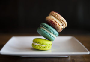 Salted macaroons at Sweet Touch. Nathan Howard/The Columbian