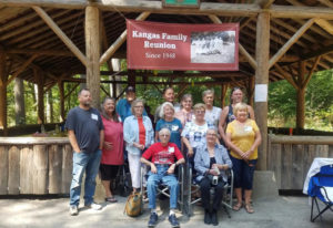 Battle Ground: Members of the Kangas family at their 70th annual family reunion, held Aug. 18 at Lew