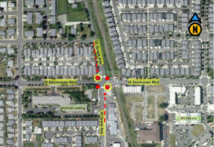 Battle Ground: The intersection of Southeast Rasmussen Boulevard and Southeast Grace Avenue will bec