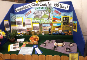 Clark County Fairgrounds: The award-winning Fargher Lake exhibit at the Clark County Fair put togeth