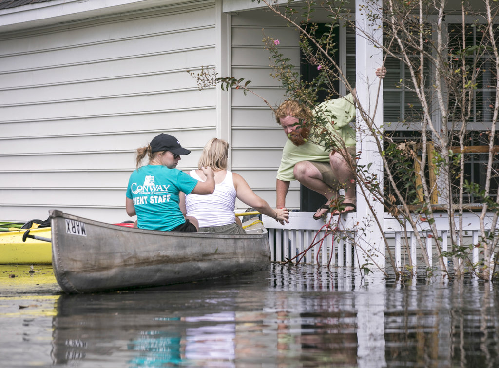 10 days after Hurricane Florence, fresh chaos in Carolinas