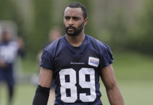 Wide receiver Doug Baldwin returned to practice Wednesday for the Seahawks. Ted S. Warren/Associated