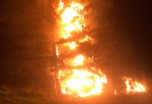 Steven Gorbet jumped into action when he came across a fiery crash off southbound Intestate 5 on Tue