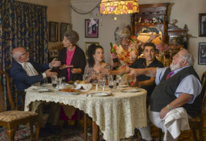Veteran actor Lou Pallotta, far left, is also the managing director at Love Street Playhouse; when L
