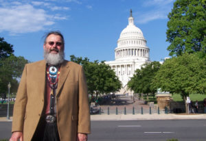 As vice chairman of the Chinook Indian Nation, Samuel V. Robinson has traveled to Washington, D.C.,