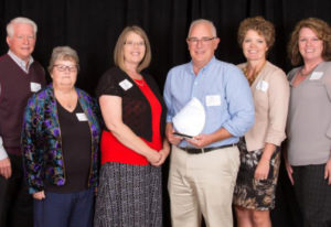 Central Vancouver: Innovative Services NW board members, from left, Dick James, Mary Dunford, Amy Sh