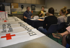Washougal: The American Red Cross was one of the organizations with representatives at Washougal Hig
