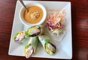 Fresh rolls with shrimp at Sri Thai Cuisine. Photos by Rachel Pinsky for The Columbian