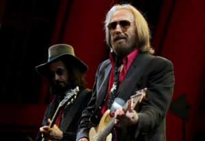 Tom Petty performs with the Heartbreakers at the Hollywood Bowl in Los Angeles on Sept. 21, 2017. Lo