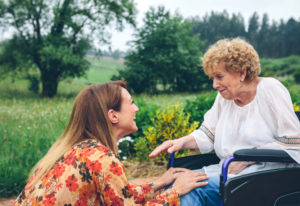 How we talk to elders is important for their well-being and our own. Dreamstime