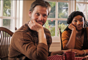 "Ike Barinholtz and Tiffany Haddish star in ""The Oath."" Topic Studios/Roadside Attractions"