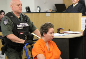 Asenka Miller Wilber makes a first appearance on Oct. 1 in Clark County Superior Court on suspicion