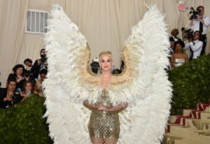 Katy Perry attends the Costume Institute Benefit at The Metropolitan Museum of Art celebrating the o