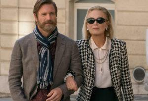 """Aaron Eckhart and Marthe Keller star in """"The Romanoffs."""" Amazon"""