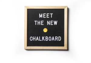 Letter board signs are replacing once-trendy chalkboards. Leila Navidi/Minneapolis Star Tribune