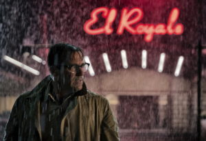 "This image released by 20th Century Fox shows Jon Hamm in a scene from ""Bad Times at the El Royal."""