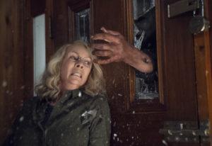 "Jamie Lee Curtis stars in ""Halloween."" Ryan Green/Universal Pictures"