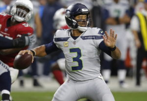 In the last four games, Seattle Seahawks quarterback Russell Wilson (3) is completing 67 percent of
