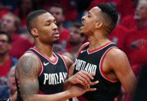 It's gonna look much the same as last year for the Trail Blazers with Damian Lillard and CJ McCollum