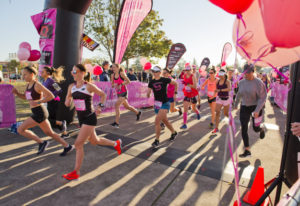 The 12th Girlfriends Run for a Cure gets underway at 9 a.m. Sunday. This year, the event raised more