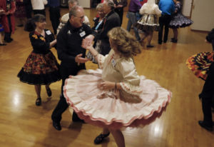 The Happy Hoppers hold their biweekly Saturday night dance at Washington Grange No. 82.  (Steve Dipa