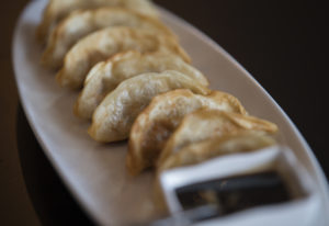 Potstickers at The Noodle Bar. Amanda Cowan/The Columbian