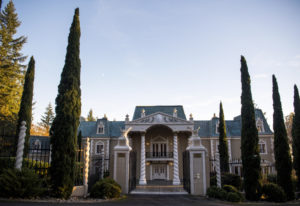 The mansion at The Empress Estate serves primarily as a wedding venue. The 17,500-square-foot mansio