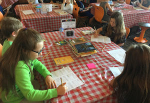 Ridgefield: Third-graders in Kari Hall's class at Union Ridge Elementary during their Book Cafe, whe