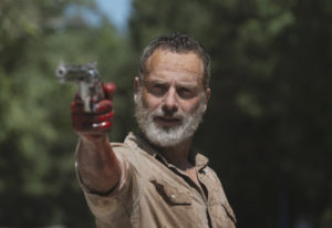 "Andrew Lincoln is Rick Grimes in ""The Walking Dead."" Gene Page/AMC"