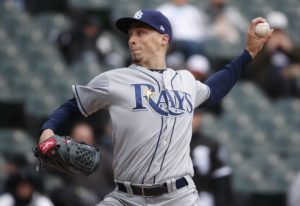 Tampa Bay Rays starting pitcher Blake Snell, a graduate of Shorewood High School, was announced as t