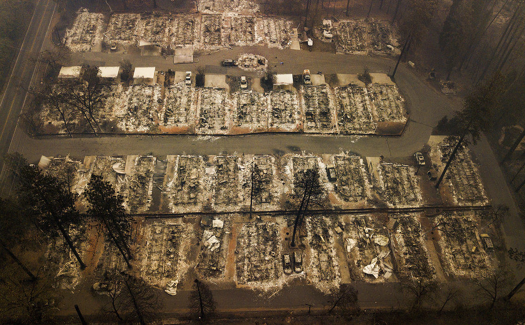 California Camp Fire death jumps to 63, missing 631