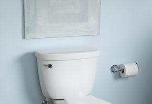 Kohler Co.--Cimarron 1.28 gpf Toilet with EcoSmart Technology. (PRNewsFoto/Kohler Co.)