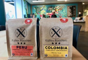 Cafe Femenino coffee at Kafiex Roasters Coffee Lab in downtown Vancouver. Rachel Pinsky