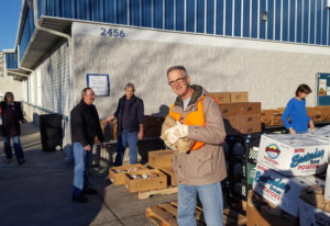 Barberton: Volunteers with the Vancouver St. Vincent de Paul Society Conference packed up and distri
