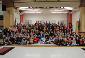 Amboy: Amboy Middle students collected 1,434 pairs of socks for Socktober. The socks will be availab