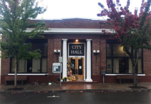 Ridgefield City Hall was added to the Clark County Heritage Register by the county's Historic Preser