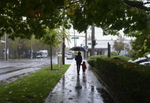 Get out your umbrellas, and hold on tight. Forecasters say a lot of rain and wind are on the way to