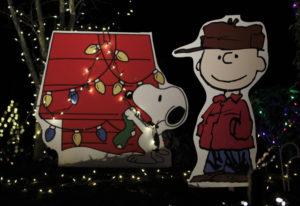 Franklin Street Christmas light display. (Steve Dipaola for the Columbian)