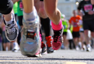A study has shown that running marathons increases heart stress. However, whether that means increas