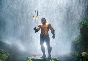Jason Momoa stars as Aquaman, a half-Atlantean, half-human who is reluctant to be king of the unders