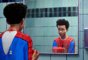 """Shameik Moore voiced Miles Morales in """"Spider-Man: Into the Spider-Verse."""" Sony Pictures Animation"""