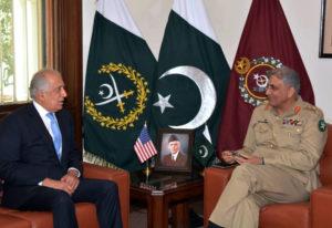 Zalmay Khalilzad U.S. peace envoy