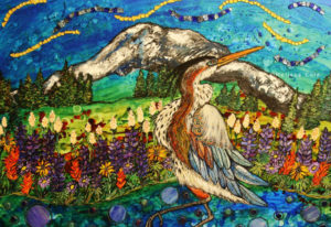 "See ""Afortunada"" by Melissa Cole during January's exhibit at Attic Gallery. The gallery is hosting a"