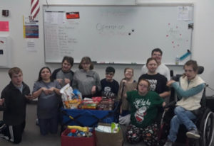 Felida: Students in Skyview High School's Transitional Skills Room 405 organized Operation Storm Paw